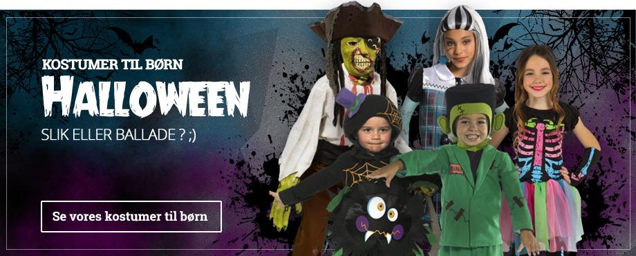 Halloween dragter til børn