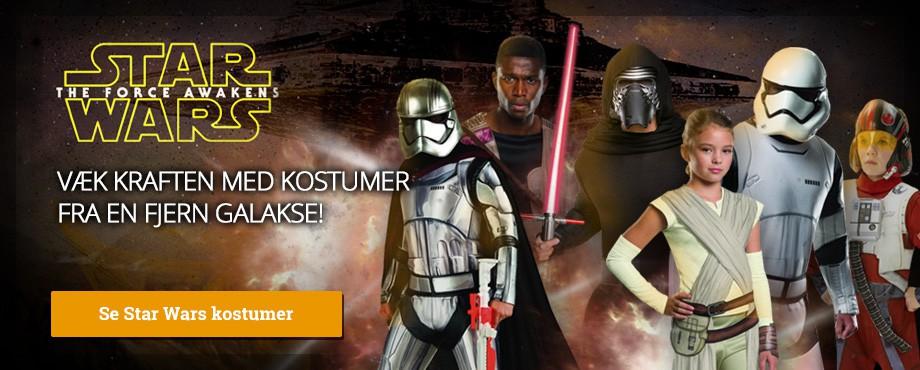 Star Wars kostumer