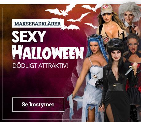 sexede halloween kostumer