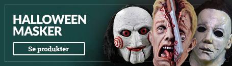 Skræmmende Halloween masker